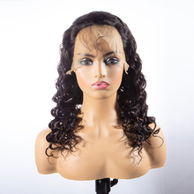 Wave Human Hair Wigs Brazilian Deep Wave Lace Frontal Wig For Black Women Lace Front Human Hair Wigs  great quality wigs