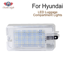 LED Luggage Compartment Trunk Boot Lights For Hyundai Accent I30 Elantra Equus Genesis Veloster Sonata NF