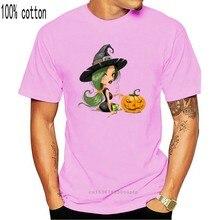 Camiseta de calabaza para hombre y niña, camiseta de Halloween, ropa de dibujos animados No se decolora, camisetas de algodón para verano y otoño, divertidas, envío directo