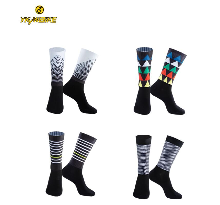 YKYWBIKE  High quality Professional brand sport socks Breathable Road Bicycle Socks Outdoor Sports Race  Cycling Sock