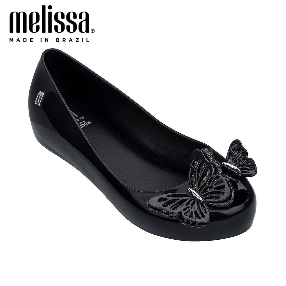 Mini Melissa Mel Ultragirl Fly II Big Girl Jelly Shoes Sandals 2020 Shoes Melissa Sandals Big Children Non-slip Girls Shoes