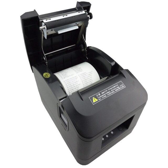 Hurtownie wysokiej jakości o wysokiej prędkości drukarki 80mm odbiór małe biletów POS drukarki automatyczne cięcie sklep detaliczny kuchnia drukarek