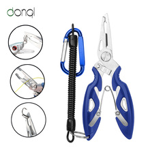 Scissor Lanyards Lure-Cutter Spring-Rope Multifunction-Scissors Braid-Line Fish-Use Hook-Remover