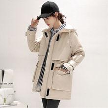Parka Coat Winter Jacket Velcro Women Warm New-Fashion Waist Wool Liner Faux-Lamb Adjustable