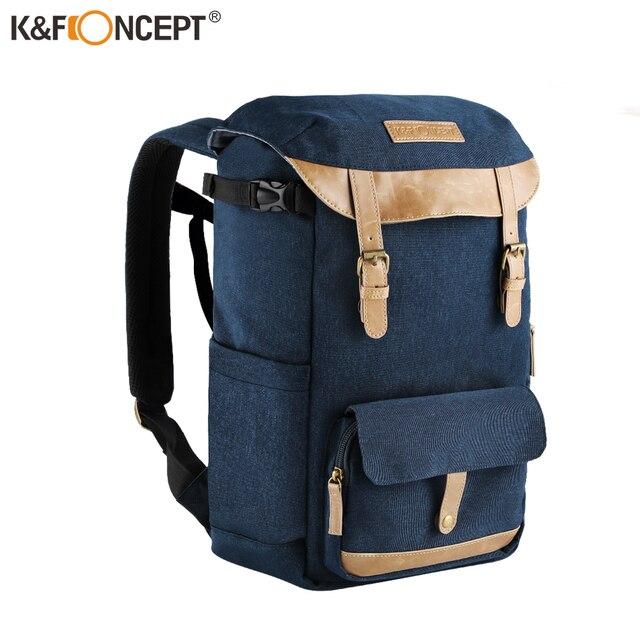 K & F KONZEPT Große Kapazität Multi funktionale Wasserdichte Kamera Rucksack Reisetasche Mit Brust Gürtel Halten SLR Stativ