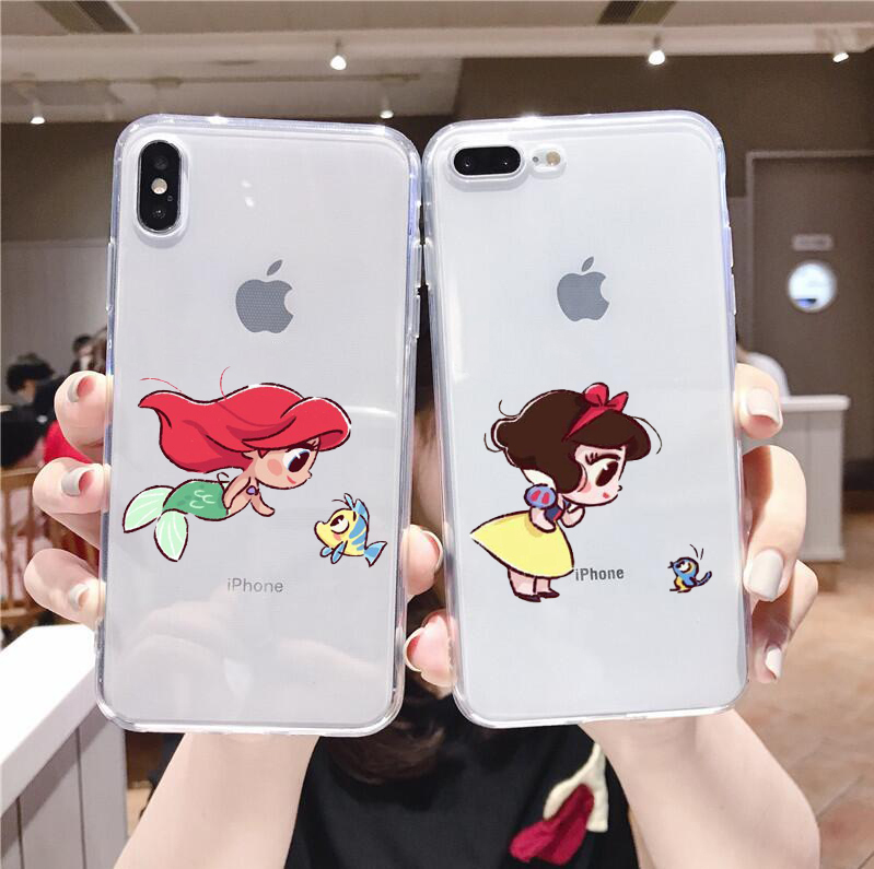 Disney Princesses Quotes Cover iPhone 8
