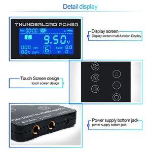 Image 2 - タトゥー電源hp 2 アップグレードタッチスクリーンTP 5 インテリジェントデジタル液晶タトゥーマシン用品セット