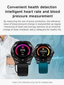 Image 5 - SENBONO Full touch S6 Smart uhr IP67 Wasserdichte männliche herz rate blutdruck Monitor Smartwatch fitness Armband