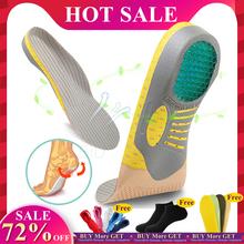 EiD PVC wkładki ortopedyczne Orthotics płaskostopie zdrowie podeszwa Pad dla wkładka do butów sklepienie łukowe pad dla podeszwy fasciitis pielęgnacja stóp tanie tanio CN (pochodzenie) 1 cm-3 cm Średnia (B M) Wkładki do butów W paski Szybkie suszenie ANTYPOŚLIZGOWE Mocne Pochłaniające pot