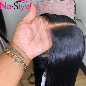 HD Transparent Lace Wigs Bob Lace Front Human Hair Wigs Straight Lace Front Wig Skin Melt Short Human Hair Wigs For Black Women(China)