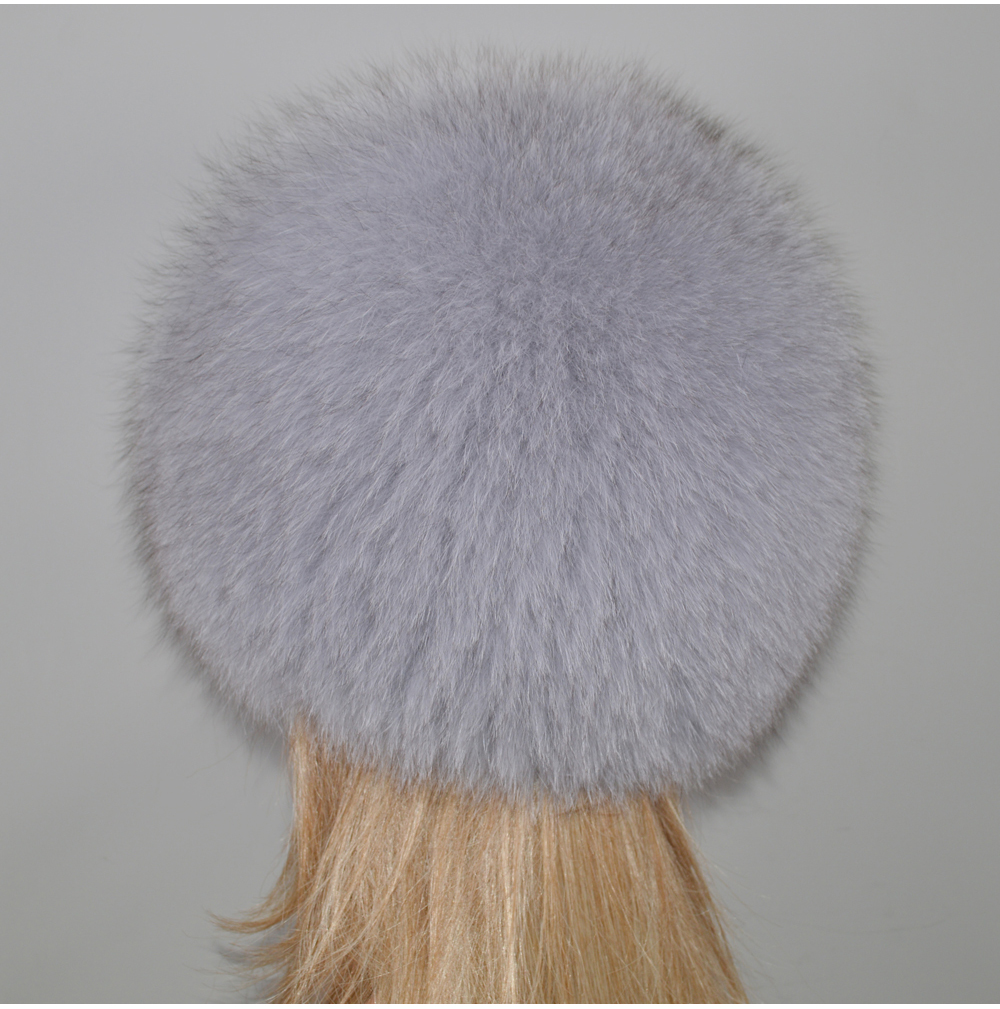 H1fe73c1514294e658519306126865f53Q - New Luxury 100% Natural Real Fox Fur Hat Women Winter Knitted Real Fox Fur Bomber Cap Girls Warm Soft Fox Fur Beanies Hats