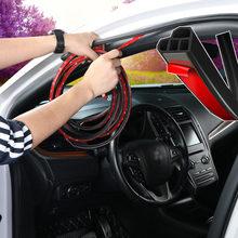 Selador de tiras para porta-malas de carro, tira de vedação para porta-malas, adesivos coloridos para proteção do som