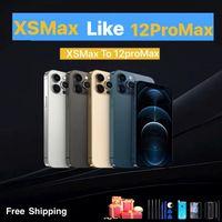 Cover posteriore custodia per iphone xs max Like to 12 pro max, iphone XSmax in 12promax XSmax come 12pro max + regalo