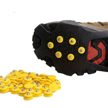 Shoe Cleats Spike Grippers Outdoor Anti-Slip for Ice-Snow-Climbing-Crampons Winter Glace-Replacement