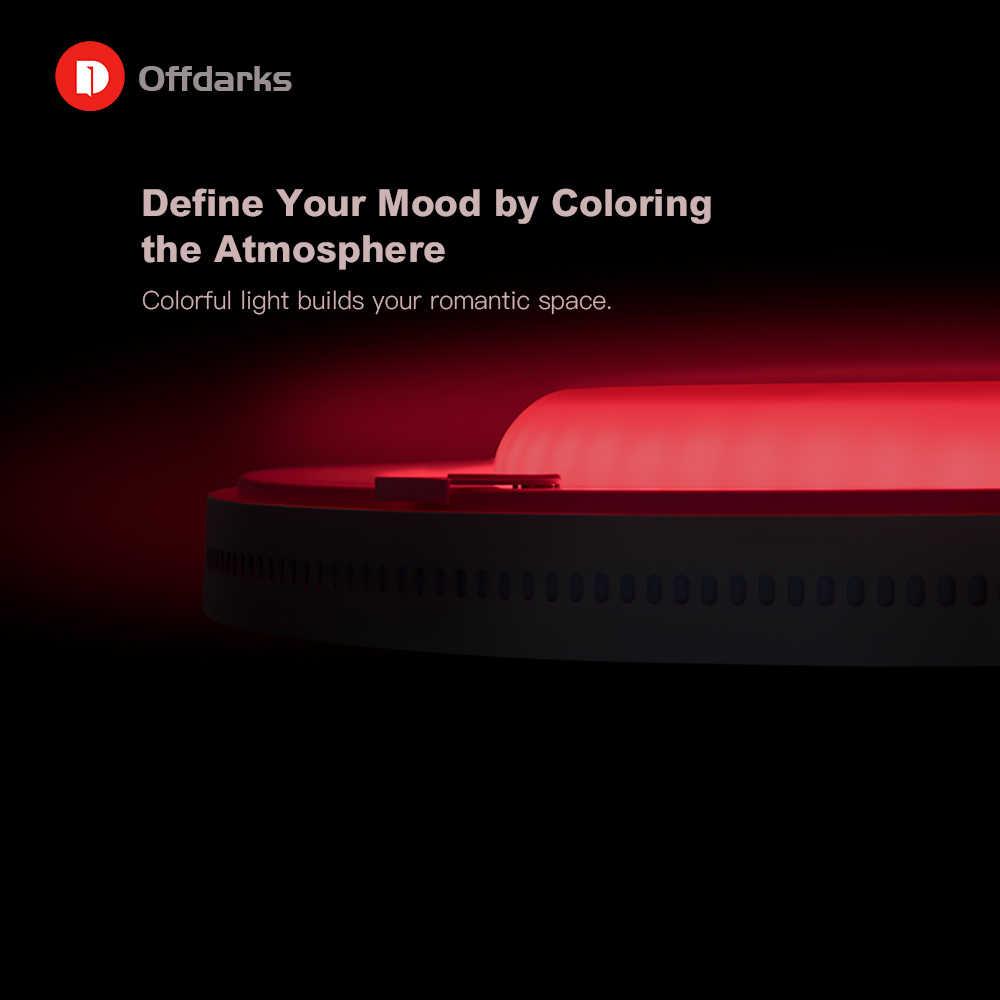 Современный светодиодный потолочный светильник RGB с затемнением 48 Вт/60 Вт приложение wifi голосовое интеллектуальное управление гостиная спальня потолочный светильник для кухни
