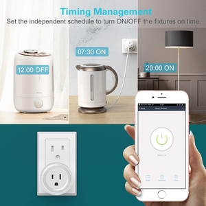 Image 5 - Smart Plug, Rdxone Mini WiFi Outlet Works with Alexa, Google Home,   Only Supports 2.4GHz Network