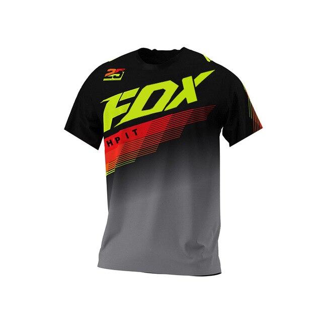 2020 MTB Джерси DH мотокросса Джерси внедорожный горный велосипед Горные Джерси MX BMX Велоспорт Джерси hpit fox Джерси fxr mtb racing