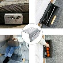 Bed Storage Bag Pockets Felt Bedside Hanging Storage Organizer Holder For  Bedroom Table Sofa