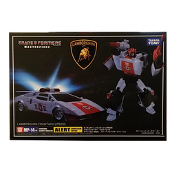 TAKARA TOMY Transformers MP14 Car Metal Part Children Gift Toys 18CM Alert Autobots Action Figure Deformation Robot