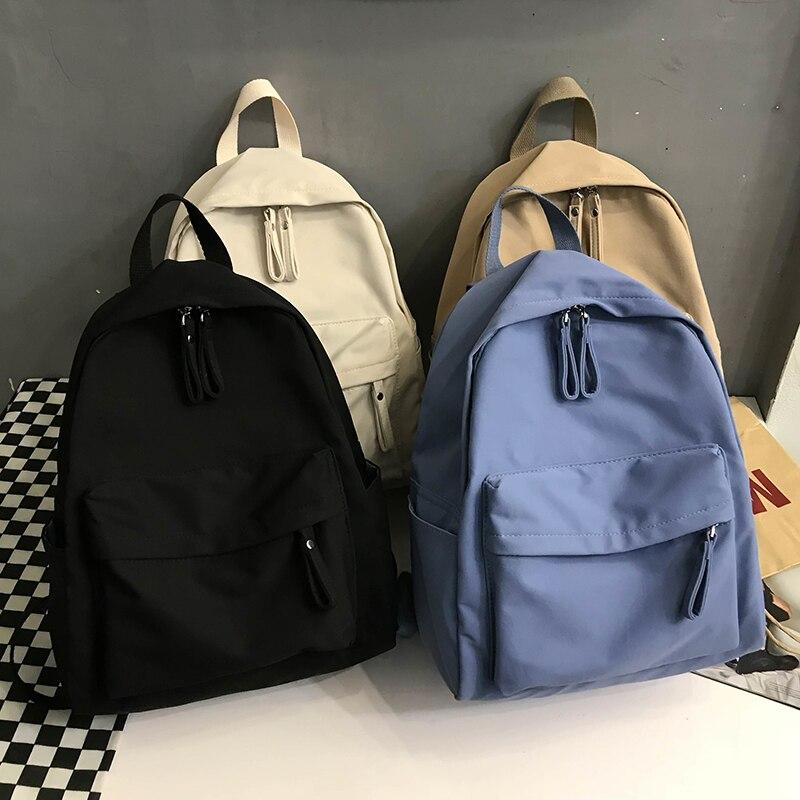 Fashion Backpack Canvas Women Backpack Anti-theft Shoulder Bag New School Bag For Teenager Girls School