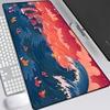 Anime Ocean Dragon Mouse Pad Large Mause Pad landscape MousePad XXL 900x400mm Gamer Accessories office desk mats mat for desktop