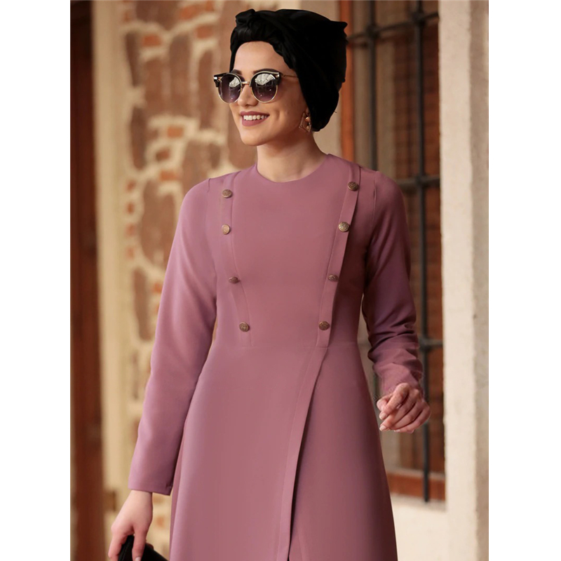 Muslim Sets Fashion Women Abaya Dress Kaftan Suit Long Sleeve 2Pcs Set Elegant Arab Middle East Vintage Evening Islamic Clohting