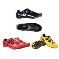 Women Men Premium Quick Lace Style Road Bike Cycling Shoes Racing Bicycle Shoes Compatible with SPD SL SPD Cleats