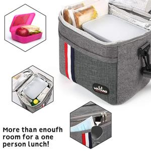 New arrival Insulated Thermal Cooler Lunch box bag for work Picnic bag Bolsa termica loncheras para mujer for school student