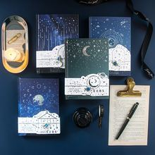 2021 Planner Starry Sky Agenda Colorful Inner Page Yearly Monthly Meekly Daily Journal Paper Notebook School Stationery Gifts