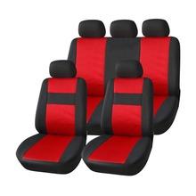 AUTOYOUTH Classics pokrowce na siedzenia samochodowe wysokiej jakości pokrowce na siedzenia samochodowe uniwersalne dopasowanie poliester 3MM pokrowce na fotele samochodowe akcesoria do siedzenia Sover tanie tanio Cztery pory roku CN (pochodzenie) 46 46inch Pokrowce i podpory 0 95kg Podstawową Funkcją 22 05inch Car Seat Covers Protects Seats From Wear and Tear