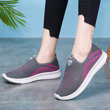 Women sneakers 2020 fashion slip-on walking shoes woman teni