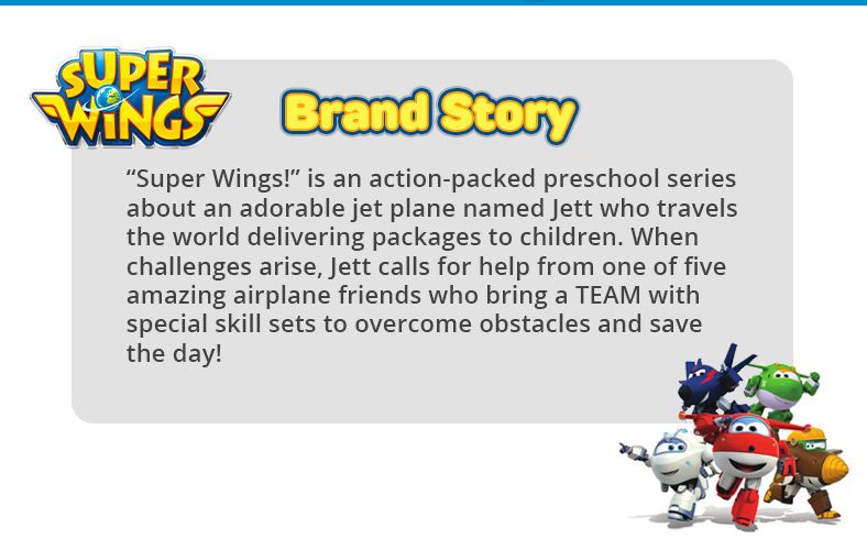 Super Wings Transforming 5 inch Airplane Robots 2