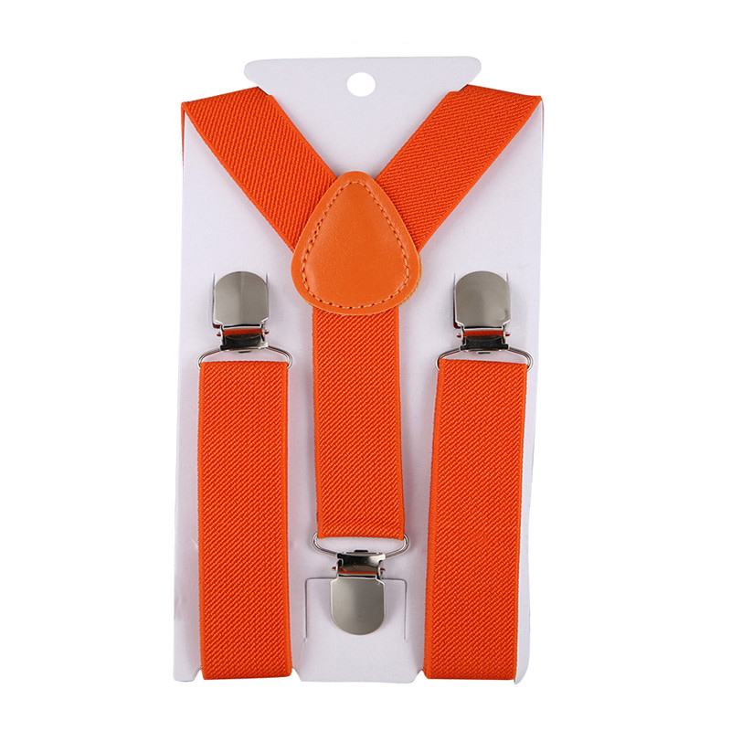 New Sale High Quality Boys  Girls Belt Clip-on Elastic Braces Stainless Kids Baby Suspenders Children Party Adjustable Accessori