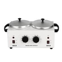 MEIERLI двойные горшки нагреватель для воска для эпиляции машина для парафинового воска нагреватель для рук и спа для ног Эпилятор инструмент для удаления волос
