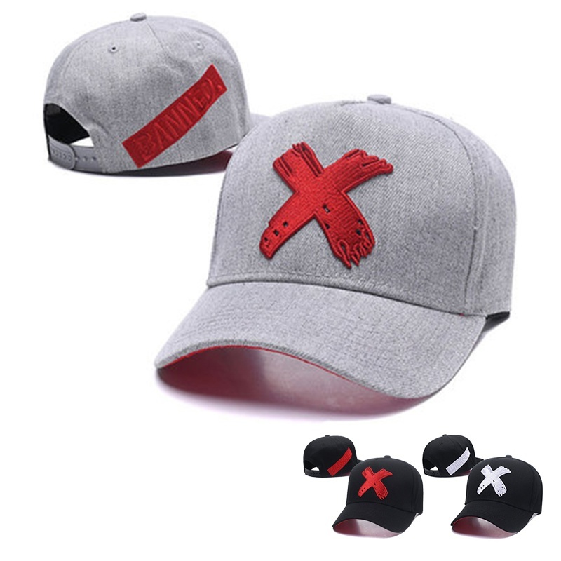 2020 New X Embroidery Baseball Cap Fashion Outdoor Cotton Trucker Caps Casual Sun Hat Men And Women Universal Hats