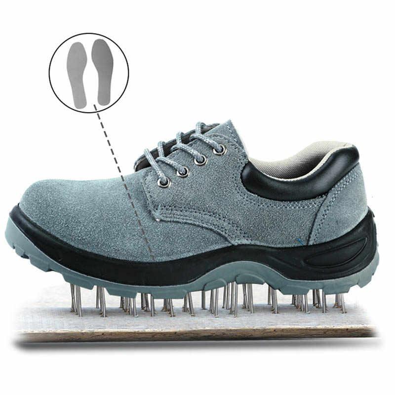 Steel Toe Cap Sports Sneakers