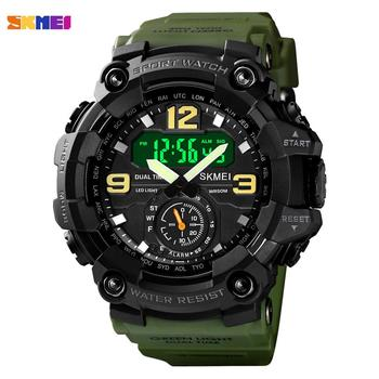 top luxury brand skmei camouflage military sports watches men fashion led digital men s wristwatch waterproof casual clock men SKMEI Top Brand Fashion LED Digital men Sport watches outdoor Military Stopwatch Calendar 50m waterproof Wristwatch Clock 1637