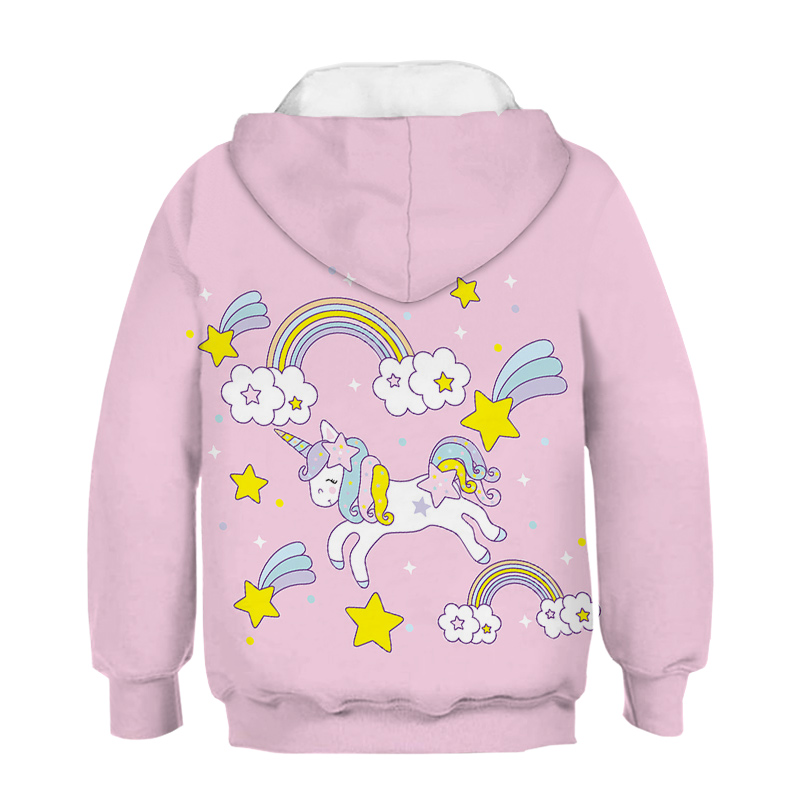 [New Arrivals] Fashionable Unicorn Pullover Hoodie