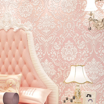 High quality retro American country solid color wallpaper non-woven garden small flower bedroom living room TV background wall high quality american wallpaper 3d rural non woven european style wallpaper luxury retro tv background home living room bedroom