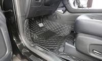 Esteiras do assoalho do carro personalizado apto para ford edge 2015 estilo do carro auto tapete acessório do carro capa|Estilo de cromo|   -