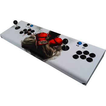 Household Pandora's Box 6 arcade Joystick game console ,HD VGA output jamma multi games 1300 in 1 fighting game machine 2019 new king of fighters joystick consoles with multi game pcb board 1300 in 1 pandora box 6 arcade joystick game console