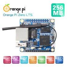 Laranja pi zero lts 256mb h2 + quad core open-source mini placa única