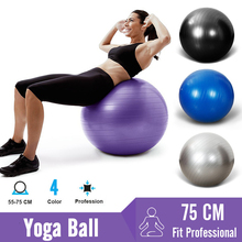 Exercise-Ball Stability Yoga-Balls Balance Gym Fitness Workout-Fitball Pilates 75cm