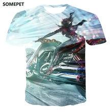 Xxs 6xl новая футболка с рисунком локомотива Повседневная крутая