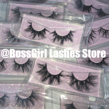 BossGirl Lashes 3d mink lashes bulk 3d mink lashes wholesale 100 pairs free fast shipping thick dramatic cruelty free free shipping 12 pairs lot 100
