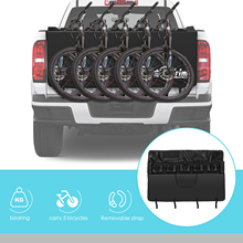 Pickup Truck Tail Pad Anti-skid Protection Pad EVA Shockproof Fixed Position Can Carry 5 Bicycles Comes With Two Tool Bags New