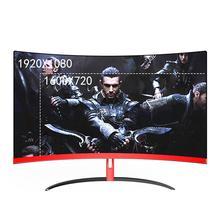 цена на Wearson 32 inch Curved Gaming Monitor LCD 2mm Side Bezel-Less HDMI VGA input Eye Care Flicker Free