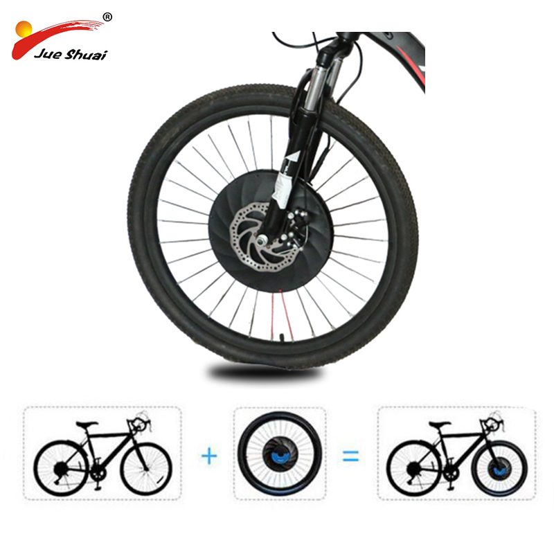 "Front Imortor Wheel Ebike Covnersion Kit 36V 20"" 24"" 26"" 27.5"" 700C 29"" Motor Wheel Electric Bike Wheel E Bike Kit with Battery"