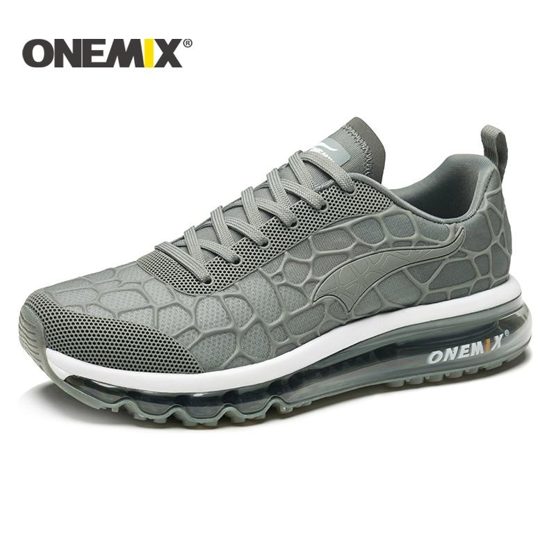 ONEMIX Road Running Shoes Men Air Cushion Sneakers men Outdoor Walking Shoes men Treadmill running shoes Women tennis sheos men title=