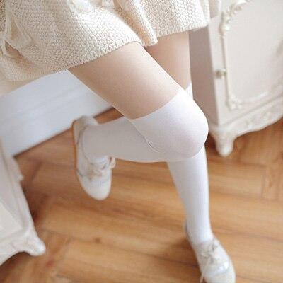 1 пара гетры для женщин дамы зима весна вязать крючком для ног гетры досуг ноги покрытие крючком длинные носки 5 цветов - Цвет: Белый